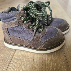 Genuine Kids Brown Lace Up Booties